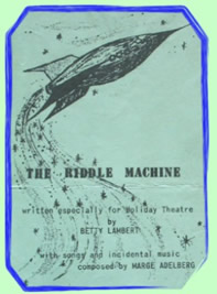 The Riddle Machine flyer